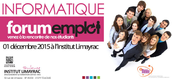 Entreprise l 39 institut limayrac propose son forum emploi for Informatique forum bayonne