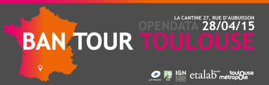 BAN TOUR TOULOUSE : Open Data