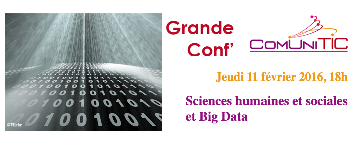 ComUniTIC : Sciences humaines et sociales et Big Data
