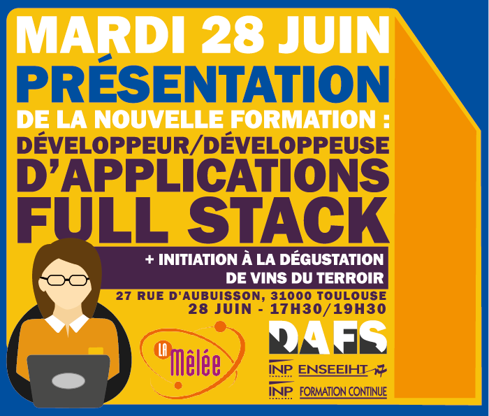 Développeur(se) d'Applications Full Stack