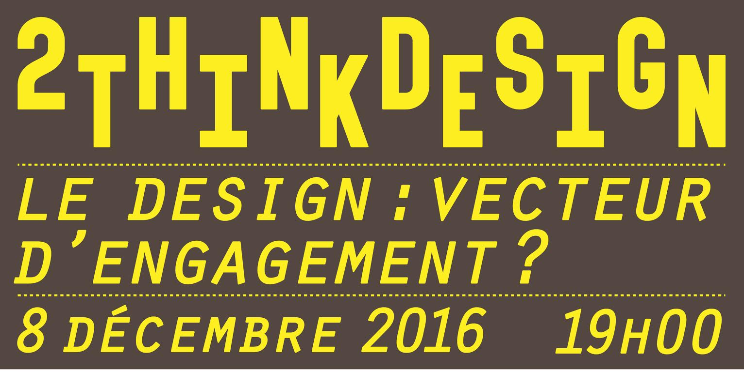 2ThinkDesign - Le Design : Vecteur d'engagement ?