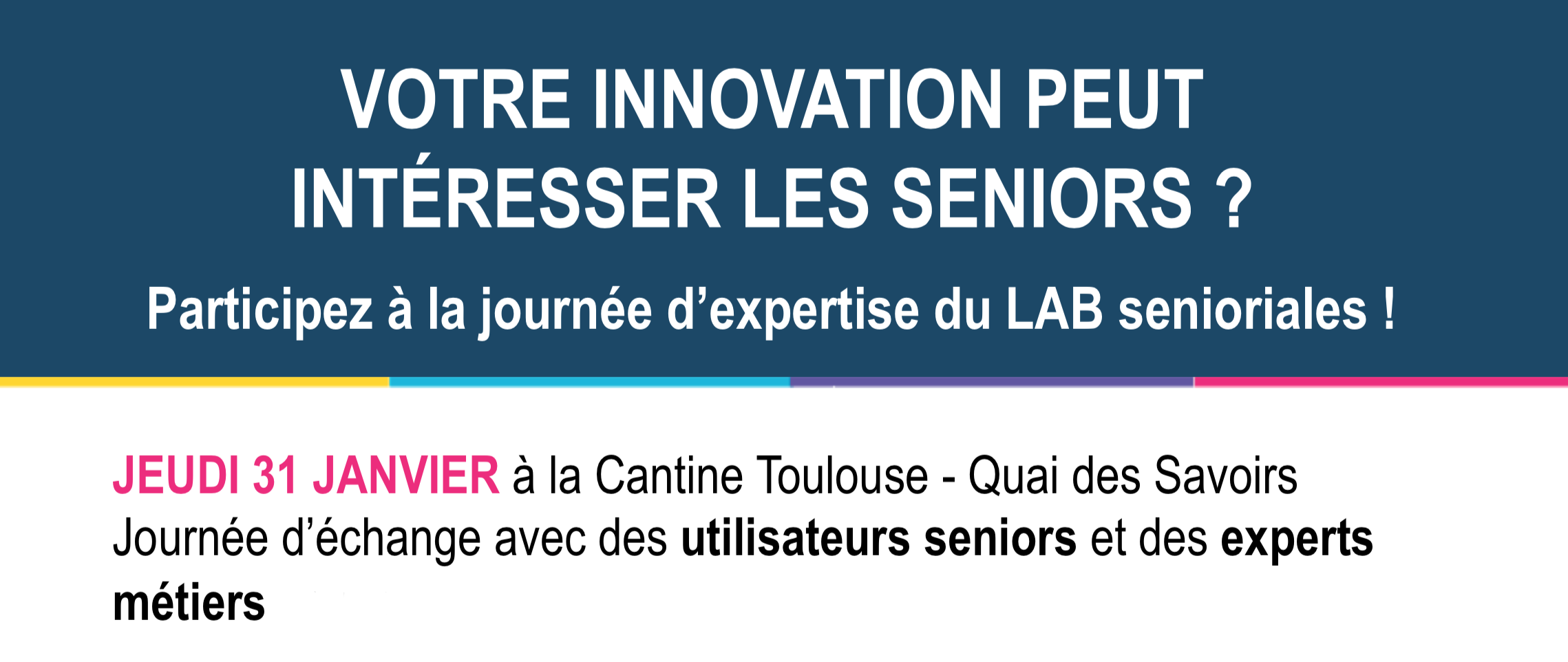 Journée Expertise du LAB Senioriales
