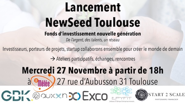 Lancement NewSeed Toulouse